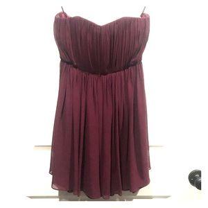 Alice + Olivia Silk Corset Dress Size 2